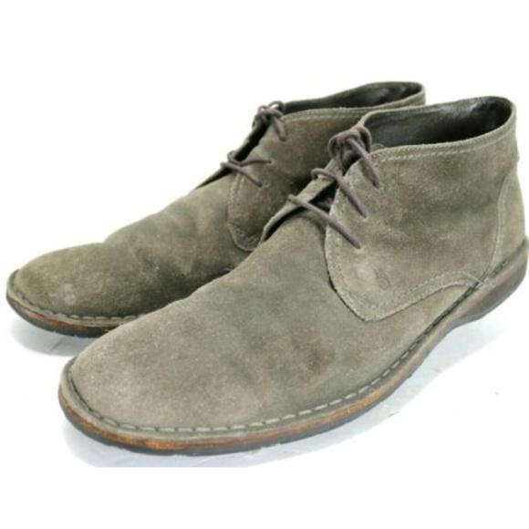John Varvatos Mens Desert Boots Sz